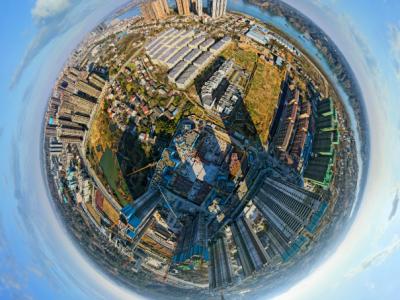辰华·长合院高空全景2021-1